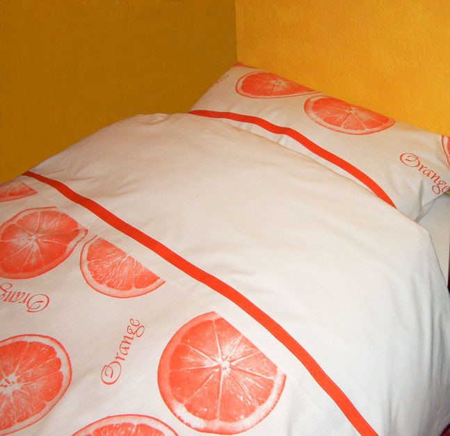 zauberfeeling bettw sche orange. Black Bedroom Furniture Sets. Home Design Ideas